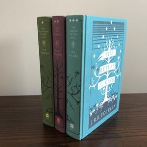 RARE The Lord Of The Rings Hardcover Trilogy